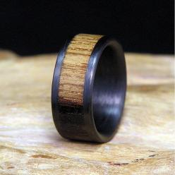 Jack Daniels Wood Carbon Fiber Wedding Band or Ring Authentic Aged Barrel Wood on Etsy, $99.00: Daniels Wood, Barrel Wood, Weddings, Whiskey Barrel, Wedding Bands, Carbon Fiber