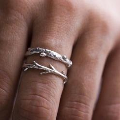 love this sterling twig ring $40 : Sterling Silver, Wedding Band, Jewelry, Twig Rings, Silver Twig, Branches