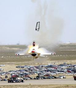 Lucky escape, 6 seconds before it hit the ground: Aviation, Air Force, Usaf Thunderbird, Airplane, Aircraft, Jet, Photo, Planes