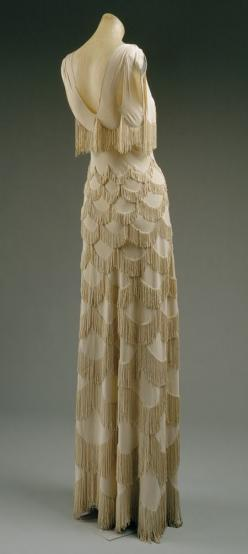Madeleine Vionnet: Evening dress (C.I.52.18.4) | Heilbrunn Timeline of Art History | The Metropolitan Museum of Art: Evening Dresses, 1920, Fashion, 1930S, Vintage Dress, 1930 S, Madeleine Vionnet, Art Deco