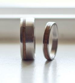 Matching set inlayed with wood. Please leave size and width needs in the notes to seller section of the checkout process. Lead time is 6 weeks: Wedding Band Sets, Wood Wedding Bands, Wood Wedding Ring, Inlay Rings Jpg, Matching Wood, Wood Inlay, Men Weddi