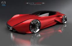 Mazda Auto Adapt Concept- I love all the concept cars and bikes. But I'm just wondering if they work and how efficient they are. But they sure are gorgeous looking.: Challenges, Bike, Cars, Design Challenge, Concept Cars, Adapt Concept, Mazda Auto