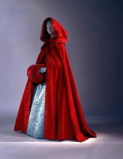 Metropolitan Museum of Art. Dated to last third of 18th C. Wool. European or American.: Fashion, Red Riding Hood, Third 18Th, Capes, Dress, Costume, 18Th Century