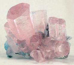 Pink Beryl, var. Morganite /  Mineral Friends <3: Crystals, Rose Quartz, Gemstones Minerals, Quartz Crystal, Gem Stones, Rock, Aquamarine, Crystal Healing