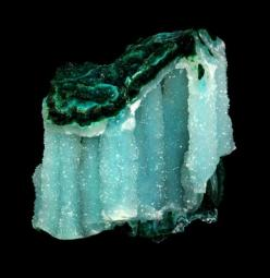 Quartz with Chrysocolla from Arizona: Gemstones Minerals, Crystals Minerals Gemstones, Gems Crystals Minerals Stones, Arizona, Colorful Gemstones, Posts, Quartz, Minerals Crystals Gemstones