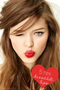 Set Lipstick to Last - 40 DIY Beauty Hacks That Are Borderline Genius: Beauty Tips, Cat Eye, Style, Makeup, Two Tone, Hair Color, Kissable Lips