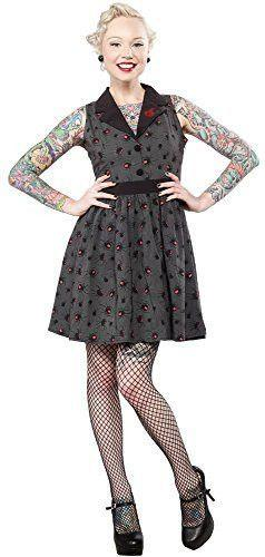 Sourpuss Spider Black Widow Gray Swing Dress: Spider Swing, Sourpuss Spider, Gray Swing, Product Examples, Product Licensing, Women S Dresses, Swing Dress