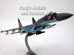 Sukhoi Su-35 (Su-27) Super Flanker 1/72 Scale Diecast Metal Model by Air Force 1: Planes Trains Helis Fighters, Air Planes