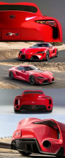Supra concept car - Possibly the new Supra! | Whether you're interested in restoring an old classic car or you just need to get your family's reliable transportation looking good after an accident, B B Collision Corp in Royal Oak, MI is the company for yo