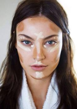 The smart girl's guide to contouring: Face, Contours, Beauty Tips, Make Up, How To Contour, Makeup Tips, Hair Makeup, Contouring