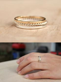 Thin stacking rings. Cute bridesmaid gift? From Bluesunflowers on Etsy.: Arrow Ring, Thin Stacking, Thin Gold Ring, Bridesmaid Gifts, Diamond Stacking Rings, Earrings Bracelets Necklaces