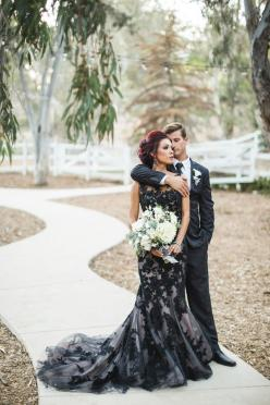 'Til Death Do Us Part Styled Wedding: Black Lace, Weddingdress, Wedding Dressses, Black Weddings, Wedding Ideas, Wedding Gown, Lace Wedding, Dream Wedding, Black Wedding Dresses