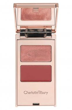 Tip for using Charlotte Tilbury's 'filmstars on the go' palette: Simply apply color to your eyes, lips and cheeks with your fingers and blend.: December 2014, 14 Cosmetics, Beauty Products, Fw 14, Products 2014, Charlotte Tilbury, Tilbury Film