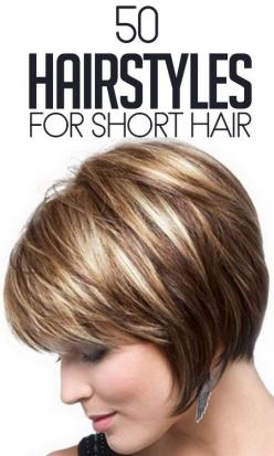 Top 50 hairstyles for short hair: Haircuts, Hairstyles, Bob, Hair Styles, Hair Cuts, Shorts, Shorthair, Hair Color