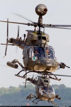 US Army Bell OH-58D Kiowa warrior. My job Is to work on these for the next four years: Aviation, Military Aircraft, Airplane, Military Helicopters, Warriors, Aircraft Picture