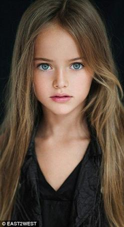 World's most beautiful girl Kristina Pimenova's mother defends pictures | Daily Mail Online: Girls, Kristina Pimenova, Kristinapimenova, Children, Kids, Beauty, Photo