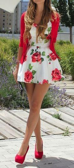 Top 10 Floral Gorgeous Dresses Prints. Fashion 2014. find more women fashion ideas on www.misspool.com