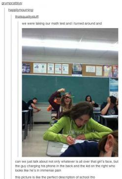 16 Perfect Snapshots Of The American Schooling System - BuzzFeed Mobile lol some are bad but some are so funny! Link!: Picture, Highschool, Perfect Description, Giggle, So True, Funny Stuff, So Funny, High Schools