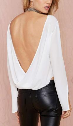 """""""The Zoe"""" leather..: Blouses, Fashion, Clothes, Dress, Outfit, Styles, Closet, Valentine"""
