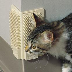 Cat-A-Comb Grooming Corner }} needed and liked as long as it doesn't take off the paint. great for home owners.. ruin a rental and it comes out of your security deposit E: Cats, Kitty Cat, Pet, Cat Comb, Clever Products, Cat Corner