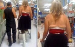 flat back boobs funny pictures of people at walmart: Funny Walmart, Funny Pictures, Walmart Shoppers, At Walmart, Wal Mart, Funnies, Photo, Funny People