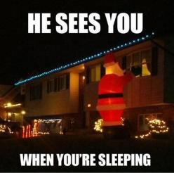 Funny Pictures – 61 Pics: Holiday, You Re Sleeping, Creepy Santa, Christmas, Funny Stuff, Funnies, Humor