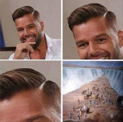 Funny Pictures Of The Day – 92 Pics: Red Sea, Funny Pictures, Ricky Martin, Funny Stuff, Humor, Funnies, Haircut, Things