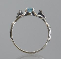 Hey, I found this really awesome Etsy listing at https://www.etsy.com/listing/72436628/two-mermaids-ring-with-blue-topaz-or: Mermaid Ring, Blue Topaz, Style, Jewelry, Rings, Stones