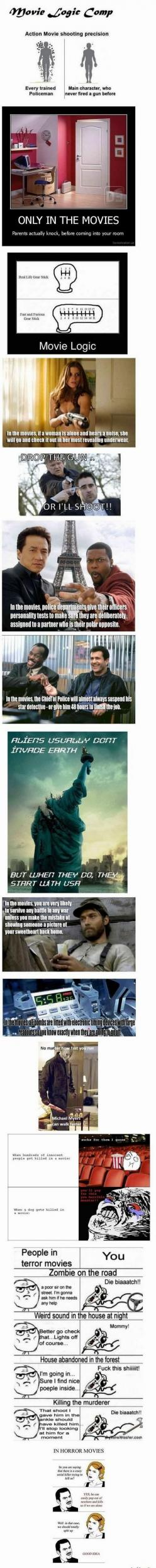 Hilarious Pictures of the week -55 pics- Movie Logic (Compialtion): Funny Pictures, Hilarious Pictures, Movie Logic Funny Truths, Pics Movie, Logic Compialtion, Funny Stuff, 55 Pics, 37 Pics