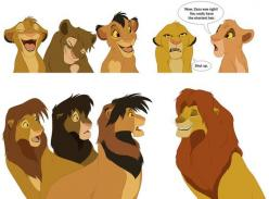 Lion King Fan Art Archive | ... /funniest Lion King fan-art you ever saw — My Lion King Forum: Funniest Lion, Lionking, Short Hair, Fan Art, King Forum, Lion King, Art Archive, Disney