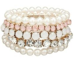 Love <3: Stretch Bracelets, Style, Pearls, Accessories, Cream Pearl