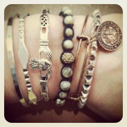 Love this look: Style, Pin, Bracelets, Jewelry, Accessories, Bracelet Claddagh