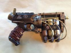 Madge 1 by ~cptnmat on deviantART: Costumes Diys, Costumes Props, Nerf Against, Inspiration Steampunk, Steampunk Nerf Guns, Steampunk Gun Nerf, Larp Cosplay Steampunk, Nerf Steampunk, Steampunk Weapon