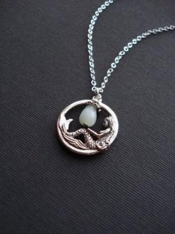 Mermaid necklace: Mermaids Tara, Mermaid Style, Mermaid Necklaces, Mermaids Jewelry, Mermaids Wolves Dryads, Antique Silver, Mermaids Ariel