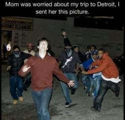 Ok this made me laugh a little: Picture, Funny Stuff, Funnies, Humor, Detroit, Funnystuff