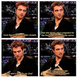 Robert Pattinson making fun of Twilight - it's worth it to go to the web page and read all of them. But! He can't hate it all that much because it skyrocketed his career and notoriety; crappy films or no, he's enormously wealthy due to them.:
