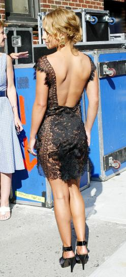sexy lace dress... not sure she realizes she's practically naked but its kinda cute: Fashion, Style, Black Laces, Backless Lace, Sexy Lace, Black Lace Dress, Black Dress, Lace Dresses