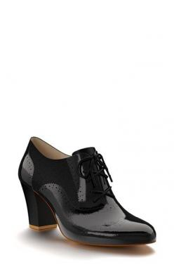 Shoes+of+Prey+Patent+Leather+Oxford+Bootie+(Women)+available+at+#Nordstrom (this is my kind of shoe): Patent Leather, Black Oxford Shoes Women, Oxford Booties, Oxford Women Shoes, Leather Booties, Womens Oxfords Shoes, Prey Patent