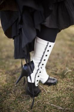 Victorian boots with buttons  For the BEST Neo Victorian Steampunk looks follow our board -> http://www.pinterest.com/vglondon/neo-victorian-love/: Victorian Costume, Victorian Boot, Shoes Boots Heels, Steampunk Style, Victorian Fashion, Steampunk Shoe