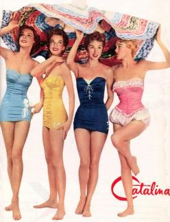 vintage bathingsuits | Vintage Bathing Suits by Ebower: Bathing Suits, 1950S, Style, Vintage Fashion, Swimwear, Swimsuits, Pinup, 50 S, Pin Up