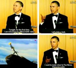 Whether or not you like the guy is irrelevant... This is funny.: Obama S Sense, That S Funny, U.S. Presidents, Obama D, Obama Xd, So Funny, Barack Obama, President Obama