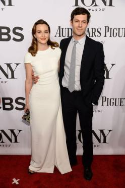 One where they're smiling that way.   10 Photos Of Leighton Meester And Adam Brody Making Their Debut As A Married Couple