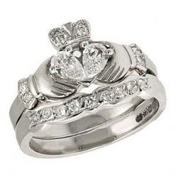 Unique and Prestigious of Claddagh Wedding Rings    July 20, 2011 By: Anne Droidd Category: Engagement Rings, Wedding Rings    Claddagh rings is a traditional Irish ring given as a sign of love used as wedding rings. This ring was first produced in the 17