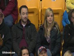 And never assume.   17 Kiss Cam Moments That Went Wonderfully Wrong Or Terrifically Right