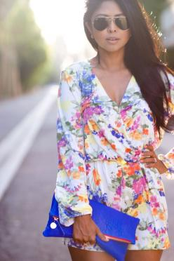 floral rompers! my spring obsession! #shopdailychic