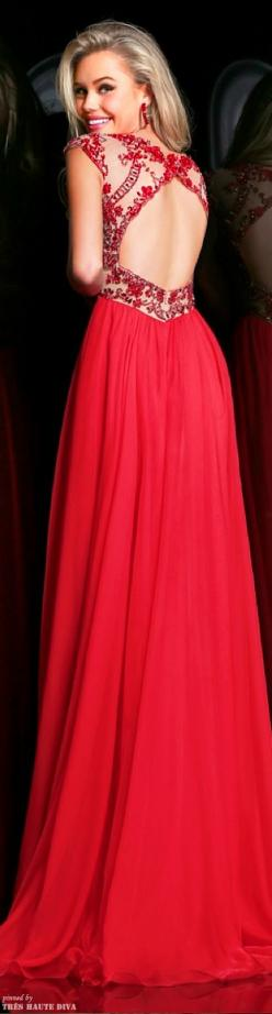 Sexy Beading Prom Dress, Backless Floor-length Long Prom Dress, Scoop Beaded Prom Dress Homecoming Dress Evening Party Dress Formal Dress,red evening dresses,backless evening dresses: Dress Prom, Prom Formal, Sherri Hill, Promdresses, Red Prom Dresses, Gr