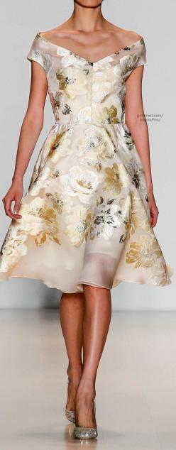 Fall 2014 - Lela Rose - so much yes happening here