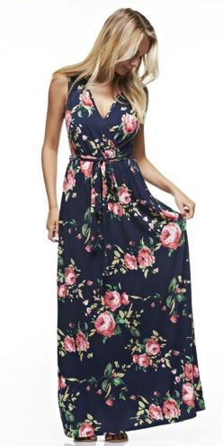 Lady Luxe Summers- Floral Maxi Dress | LadyLuxuryDesigns: Fashion Resort Style, Short, Fashion, Summertime Styles, Luxury Lifestyle, Maxi Style