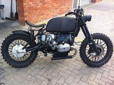 BMW Scrambler, the seat could have looked a little better.