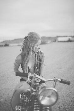 Motorcycle Girl 070 ~ Return of the Cafe Racers